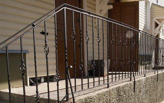 Ограждения лестничные, балконные. Лестницы.